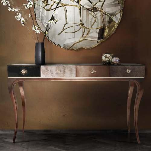 میز آرایشی نئوکلاسیک تولیکا مدل آنت