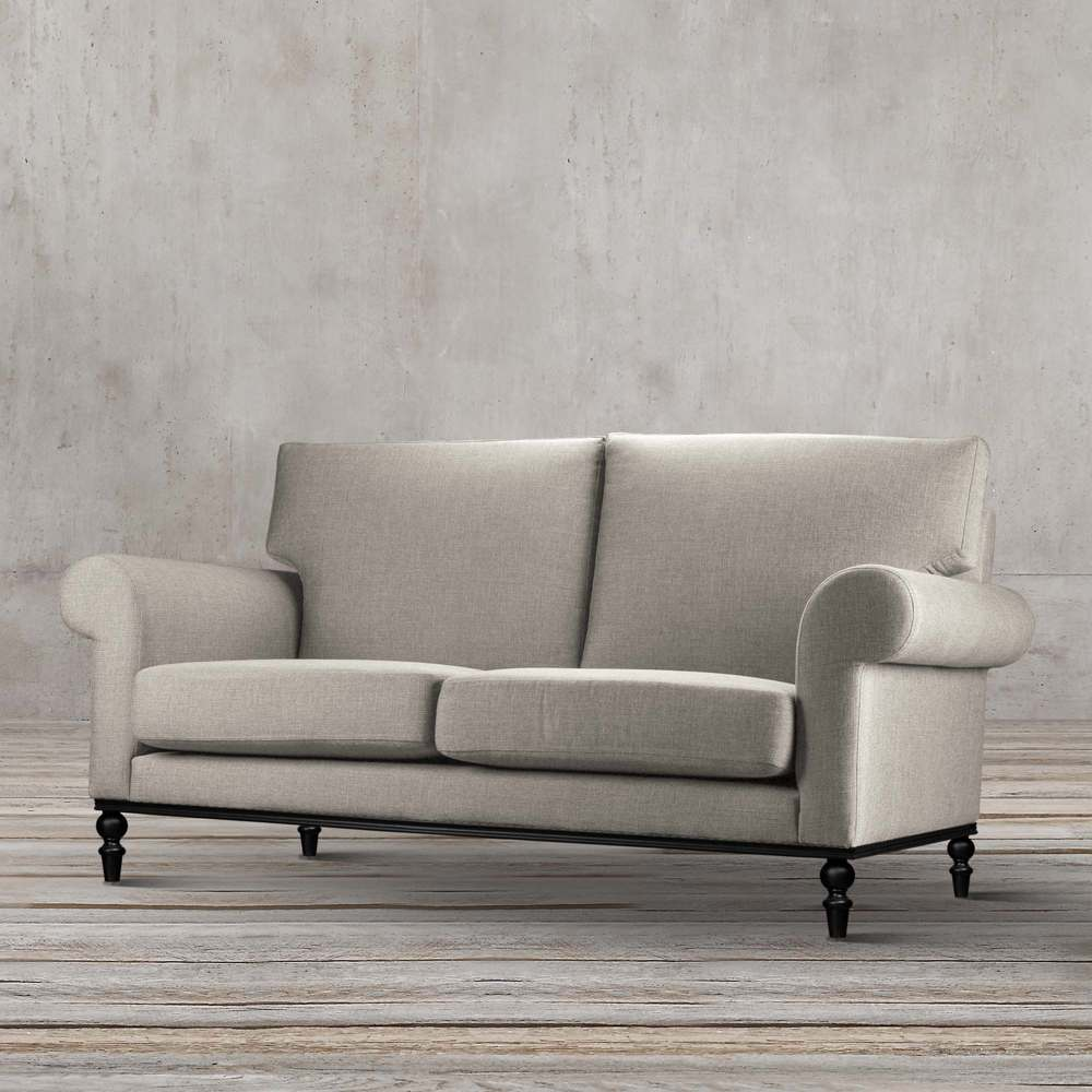 MID CENTURY FABRIC VERTA SOFA FOR 2 PERSON BY TOLICA