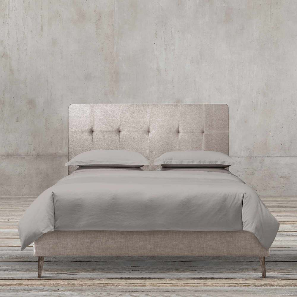 MINIMALIST KIA 160CM FABRIC BED BY TOLICA