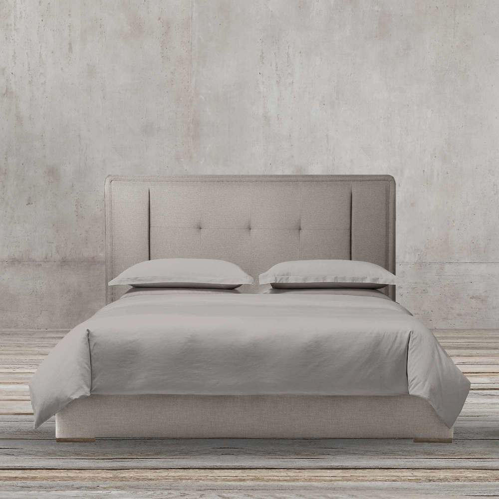 MODERN TOYA 180CM FABRIC BED BY TOLICA