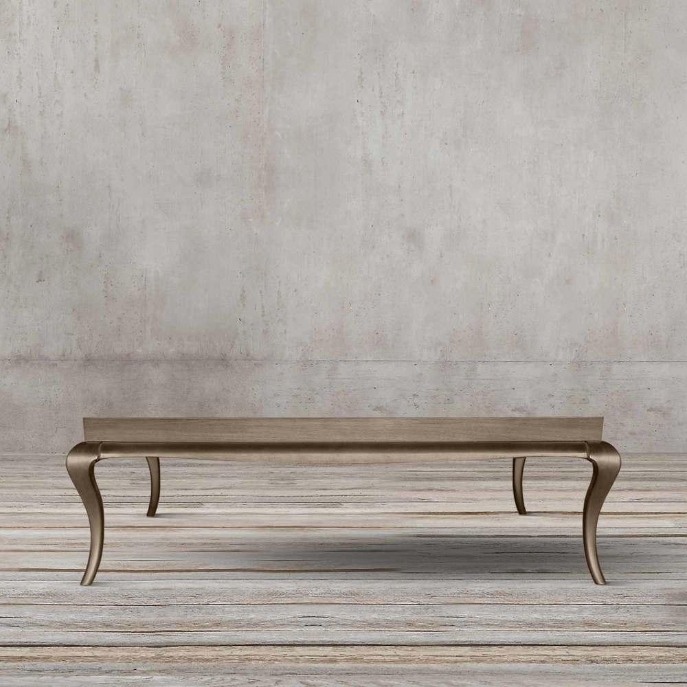 میز جلو مبلی مستطیلی نئوکلاسیک تولیکا مدل آنت