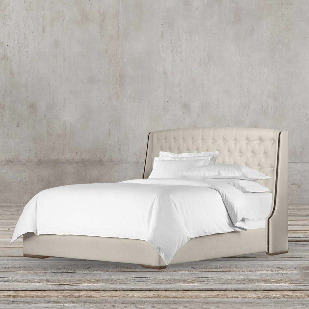 ANET CHESTERFIELD 180CM FABRIC BED BY TOLICA