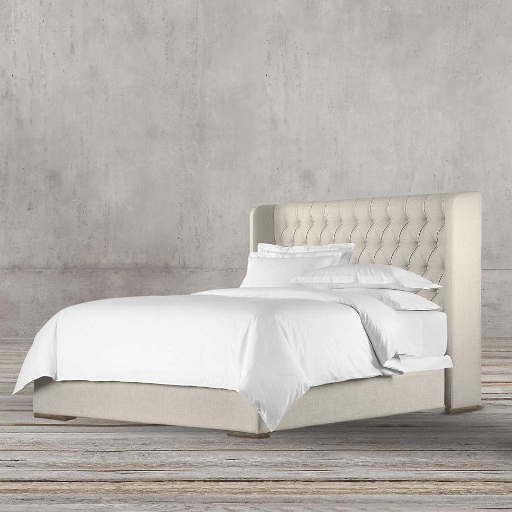 تخت خواب پارچه ای سایز 160 طرح قرون وسطی تولیکا مدل ورتا