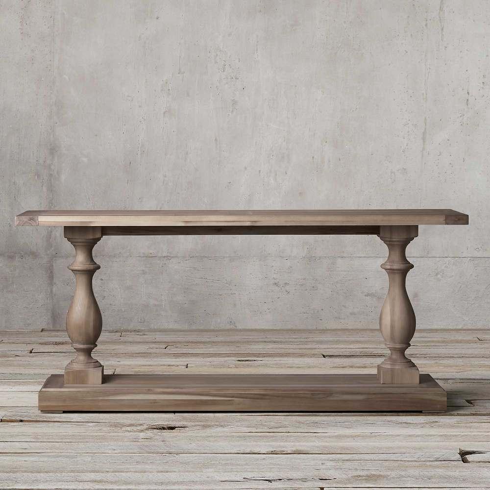 کنسول چوبی بزرگ نئوکلاسیک تولیکا مدل النا