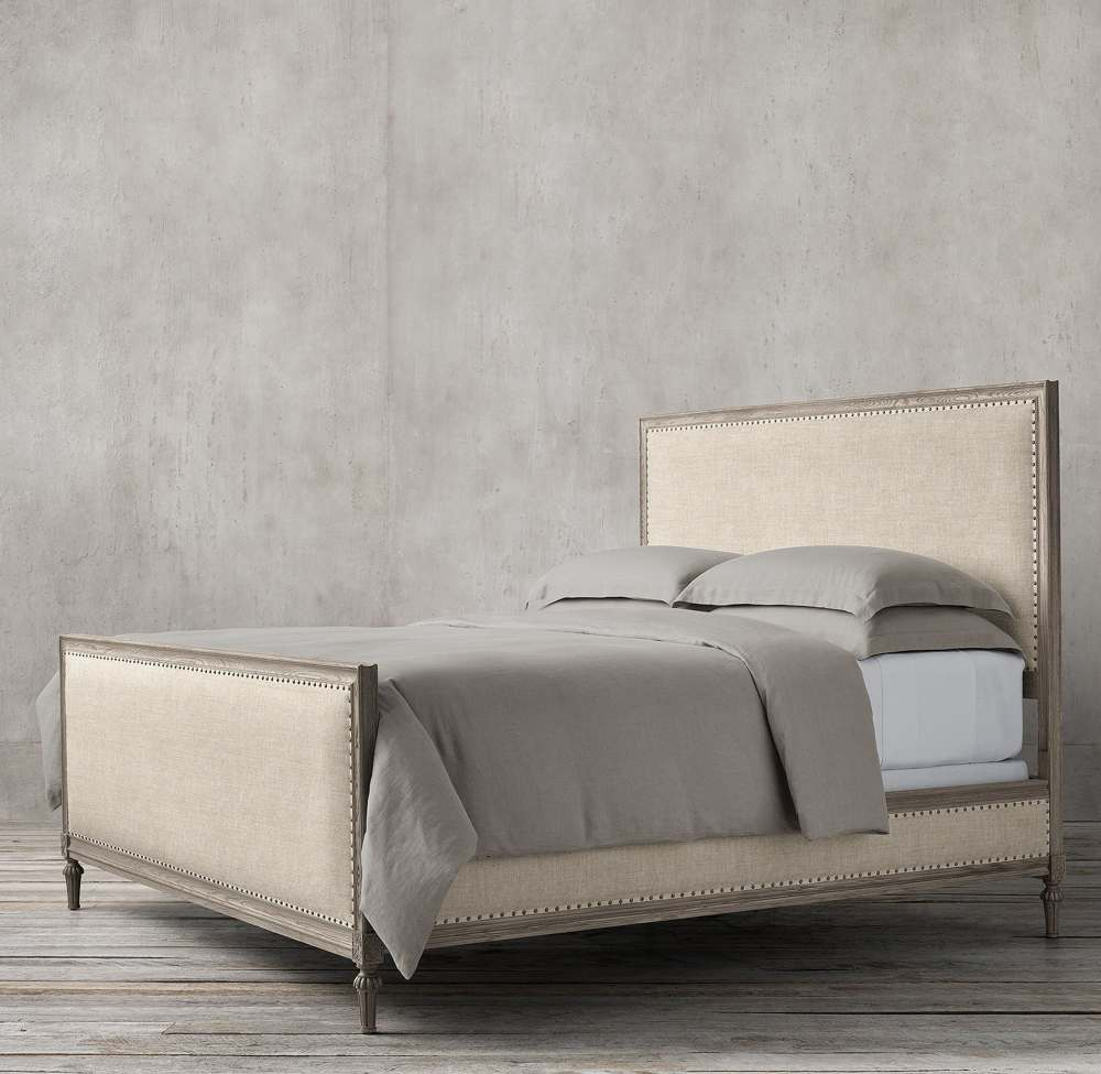NEO CLASSIC ELENA 120CM PANEL FABRIC BED BY TOLICA