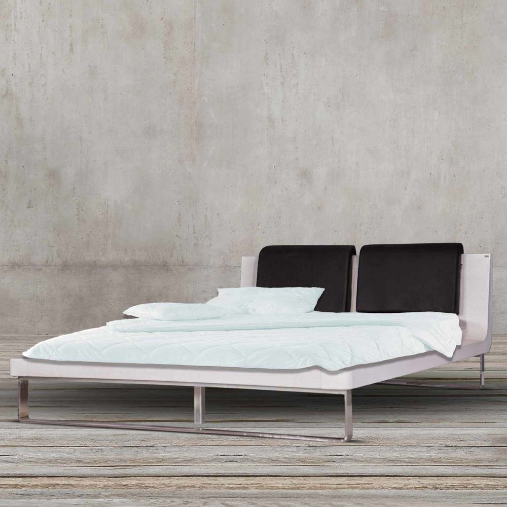 MODERN CHILAN 160CM FABRIC BED BY TOLICA