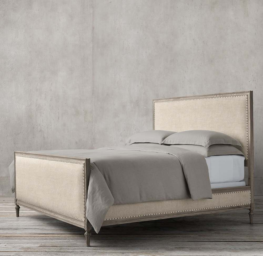 NEO CLASSIC ELENA 160CM PANEL FABRIC BED BY TOLICA