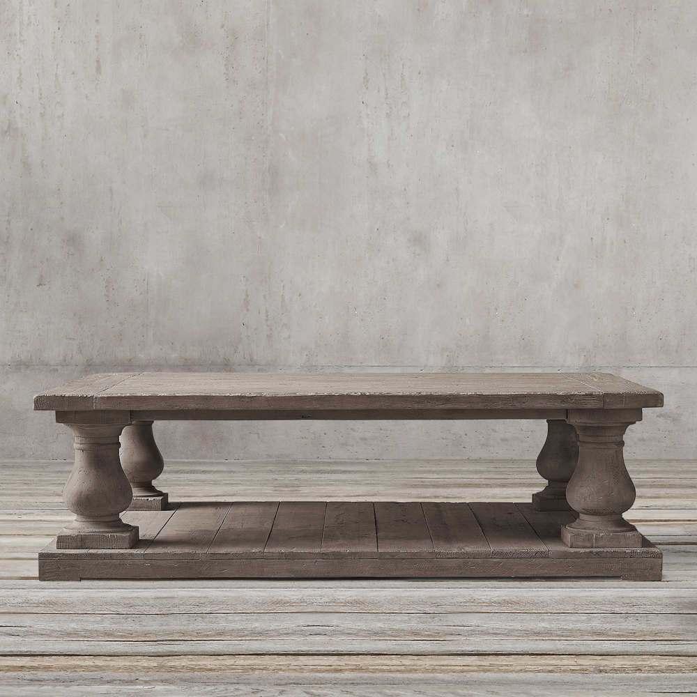 میز جلو مبلی مستطیلی نئوکلاسیک تولیکا مدل النا