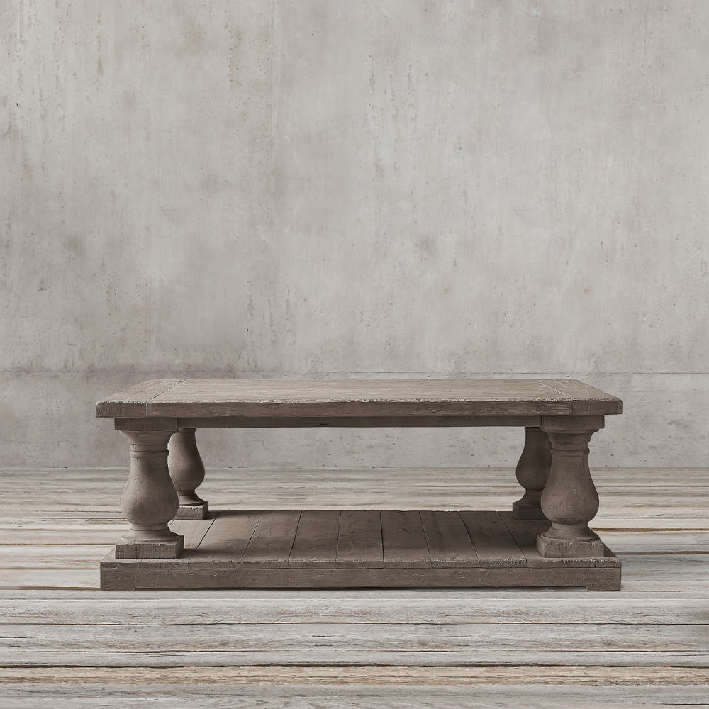 NEO TRADITIONAL ELENA SQUARE COFFEE TABLE BY TOLICA