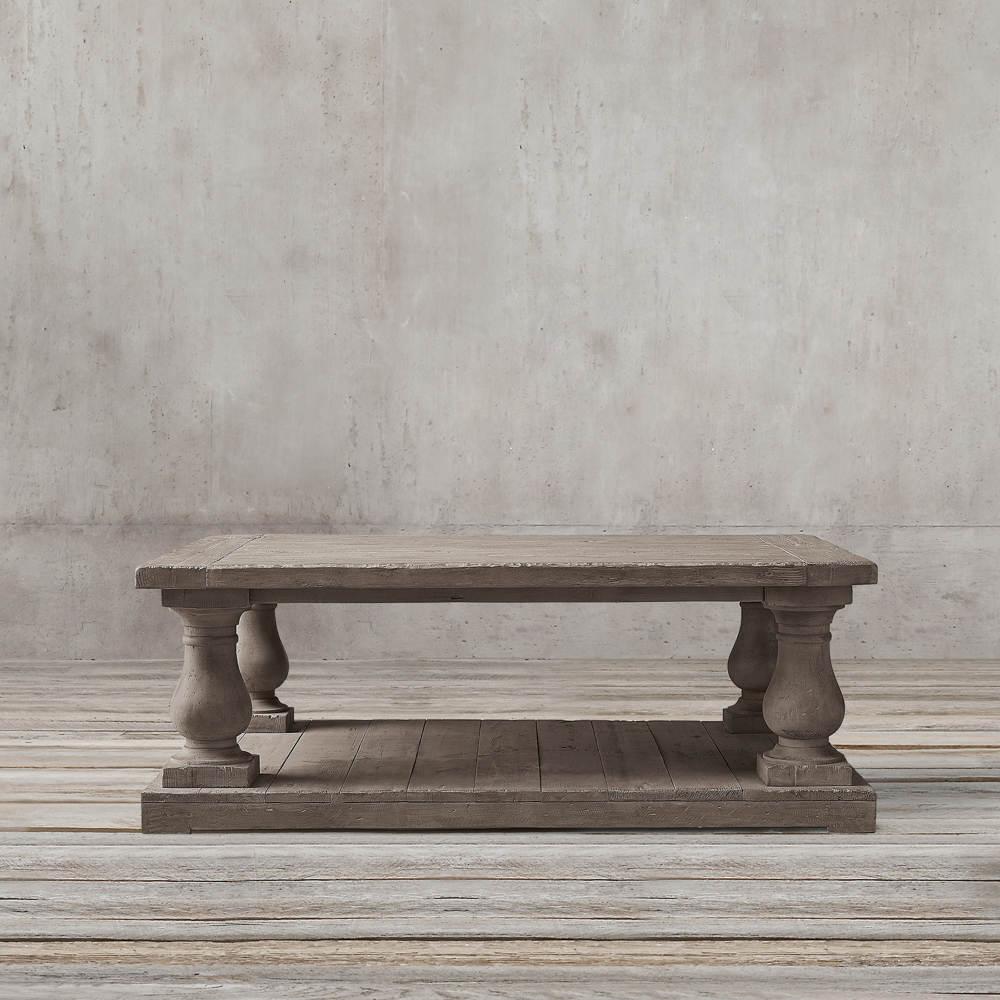میز جلو مبلی مربعی نئوکلاسیک تولیکا مدل النا
