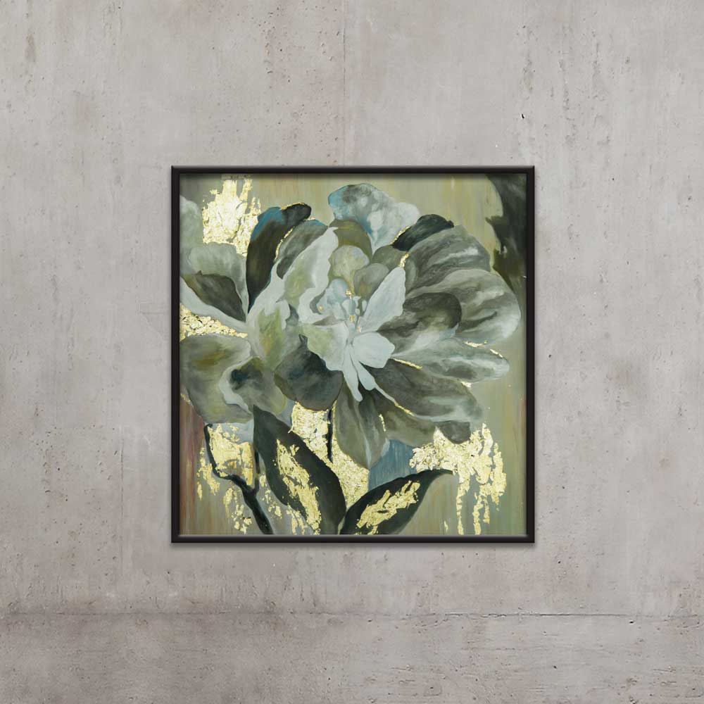 SILENT FLOWER PAINTING BY TOLICA