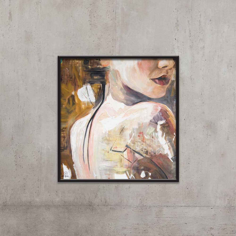 NAKED PAINTING BY TOLICA