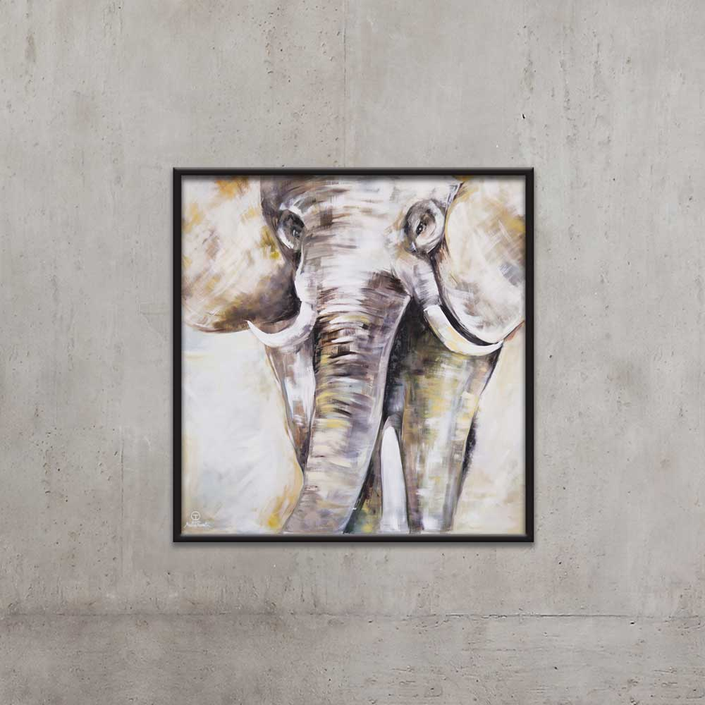 ELEPHANT PAINTING BY TOLICA