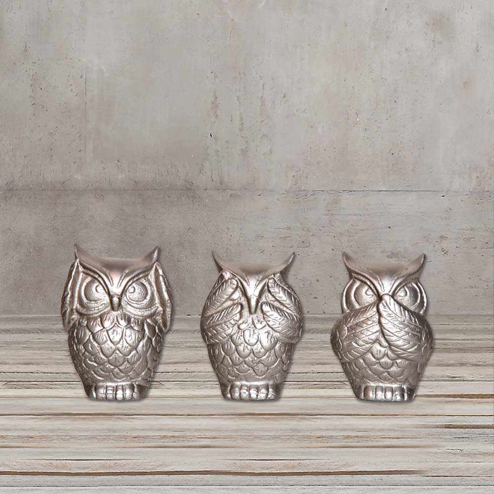 ALUMINIUM OWL ACCESSORY BY TOLICA