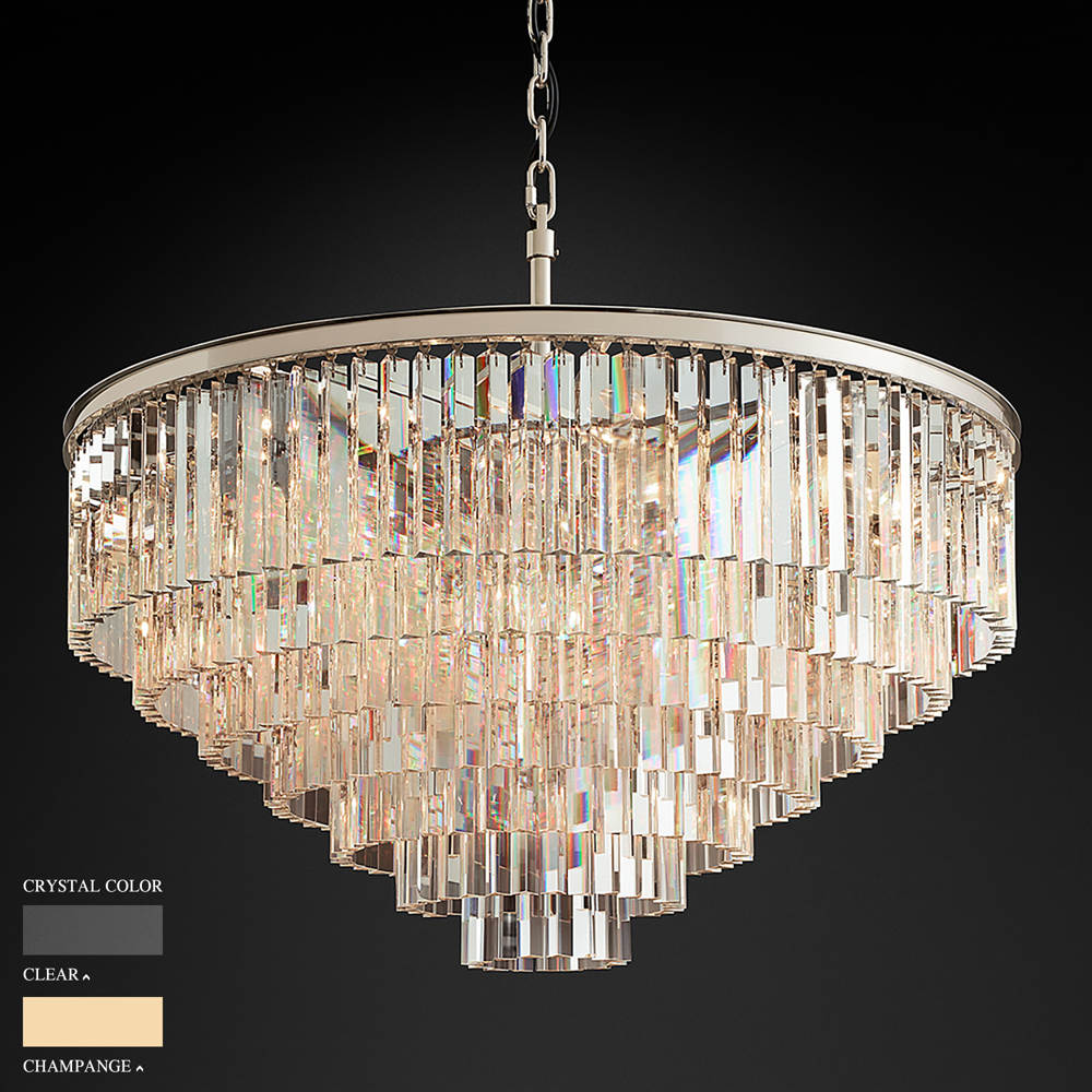 BARBARA SEVEN RING CHANDELIER BY TOLICA