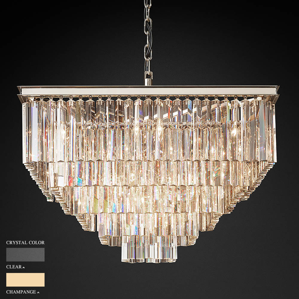 BARBARA FIVE STOREY SQUARE CHANDELIER BY TOLICA