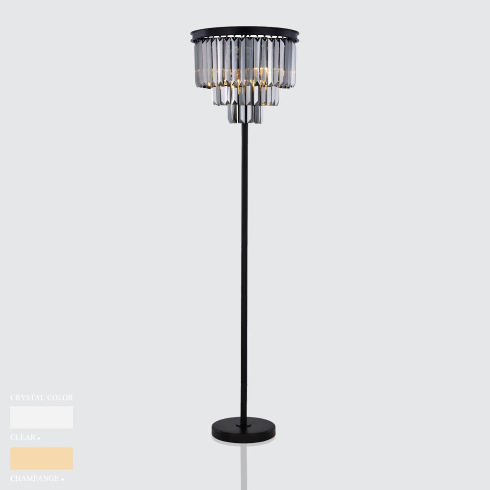 BARBARA CIRCLE STAND CHANDELIER BY TOLICA