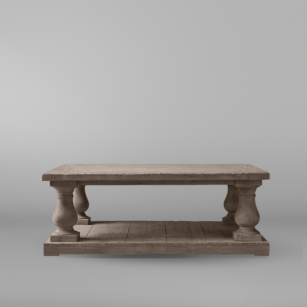 میز جلو مبلی مربعی تولیکا مدل النا