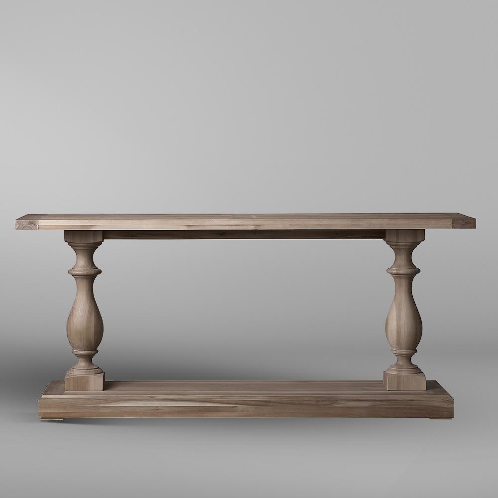 میز کنسول چوبی کوچک تولیکا مدل النا