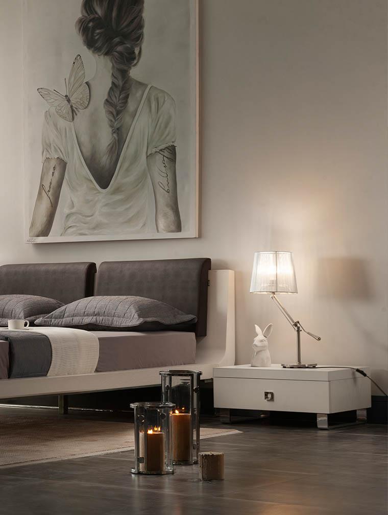 تخت خواب دو نفره تولیکا مدل چیلان