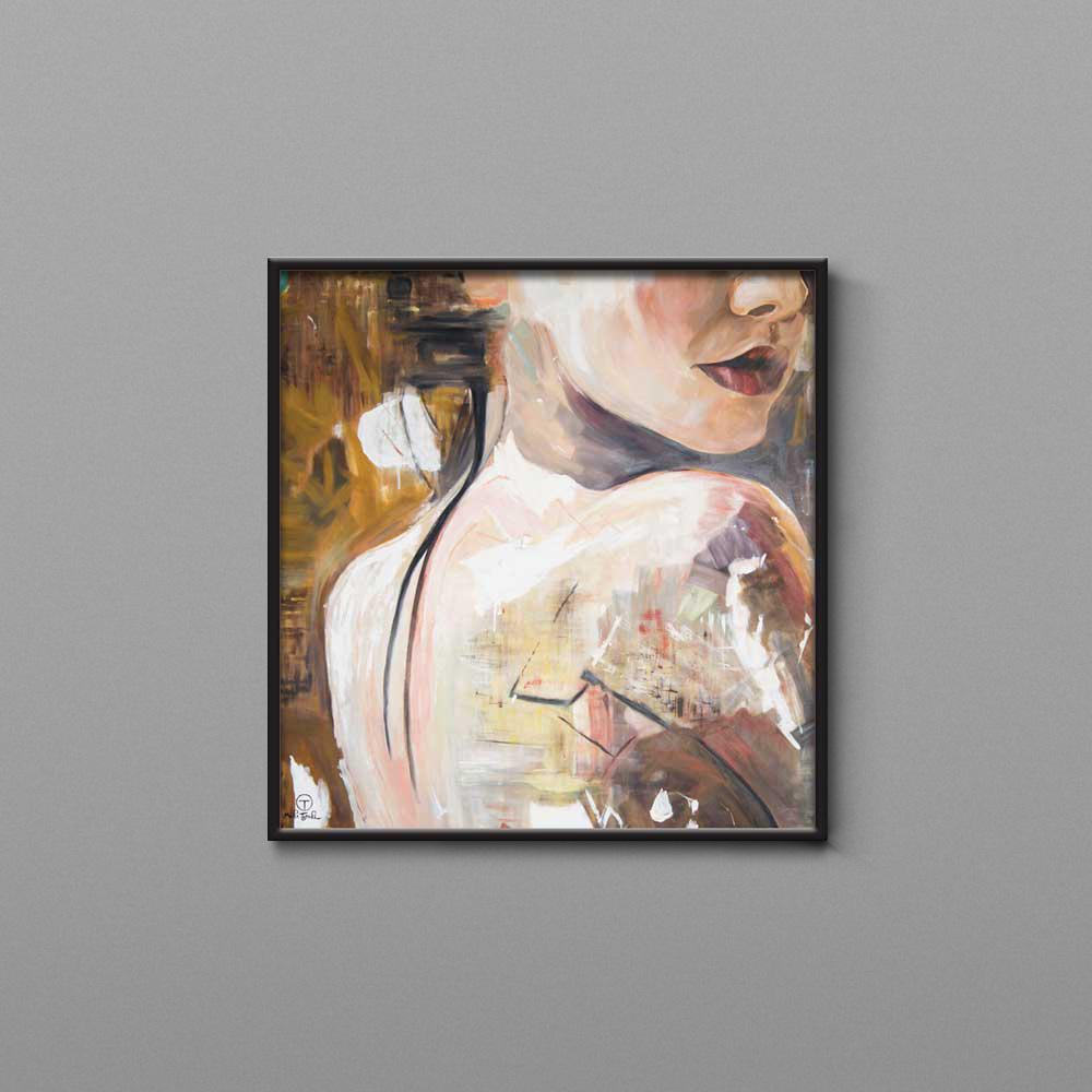تابلو نقاشی برهنه تولیکا