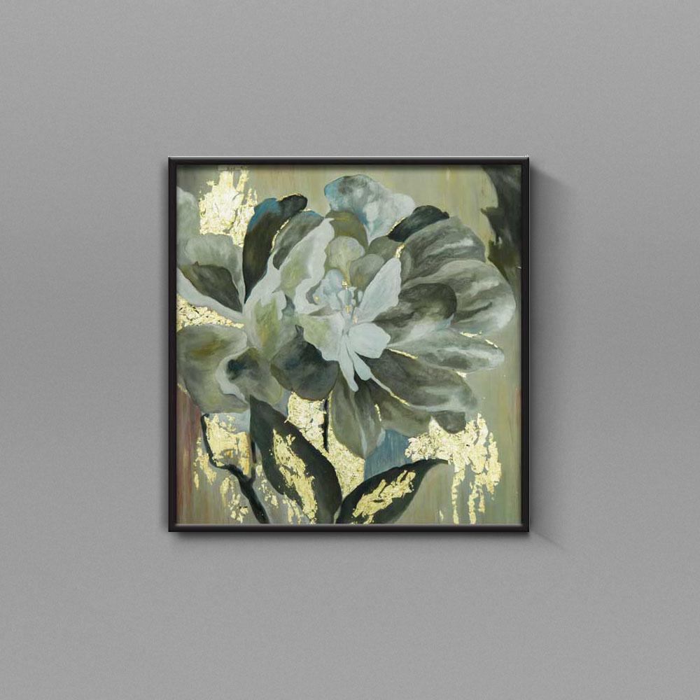 تابلو نقاشی گل بوته خاموش تولیکا