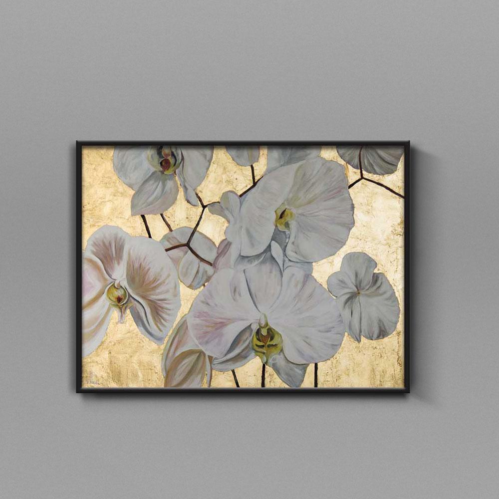 تابلو نقاشی زنبق تولیکا
