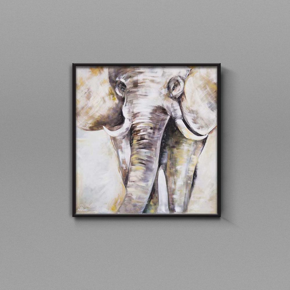 تابلو نقاشی فیل تولیکا